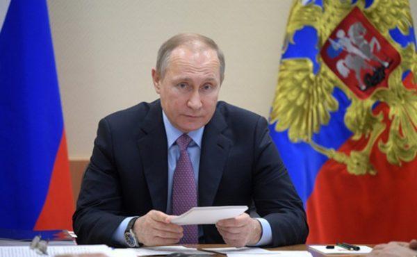 Путин: РФ разместит флот во всех важных районах мира