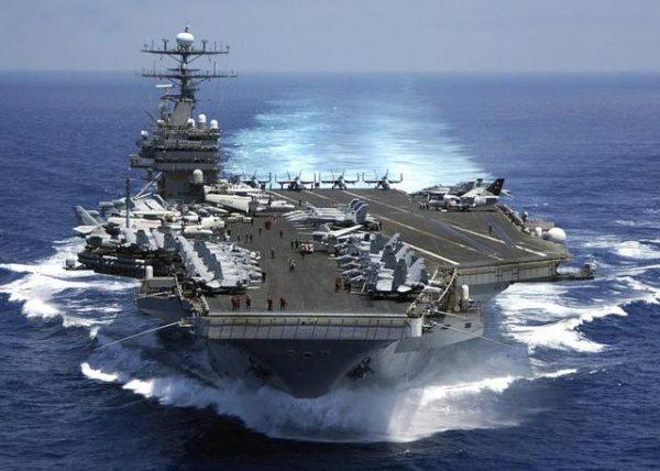 """Рейд """"Карла Винсона"""" повышает риск """"случайного"""" начала войны с Кореей"""
