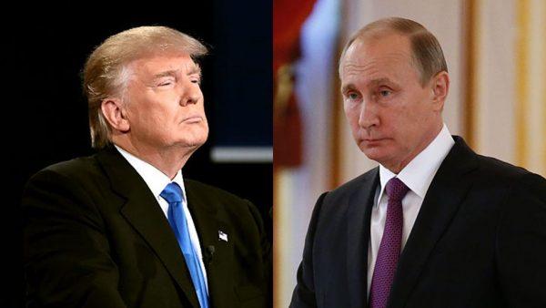 Агрессор Трамп рисуется перед Путиным