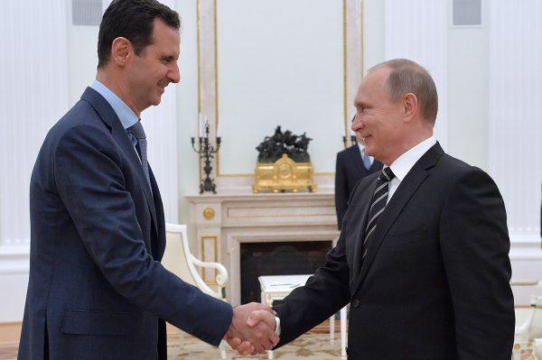 """Запад просит Путина """"продать"""" Асада"""