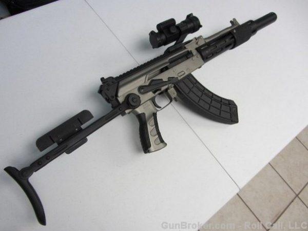 Соперник M-16: на что способен помповый «Калашников»