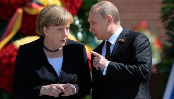 Немцы боятся визита Меркель в Москву