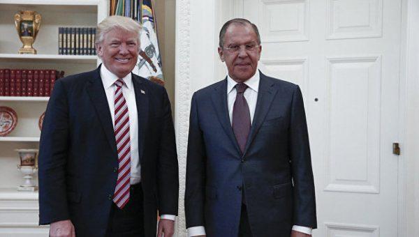 Передавал ли Дональд Трамп секретные данные Сергею Лаврову