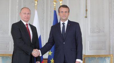 Макрон: Ни одна важная проблема в мире не может быть решена без РФ