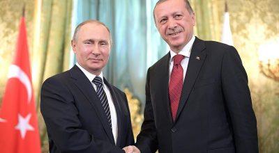 Свита Эрдогана насмешила Путина