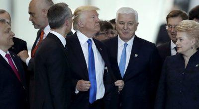 Трамп на первой встрече в НАТО: побеждает Путин