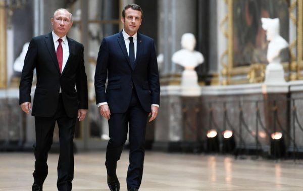 Путин экзаменует Макрона
