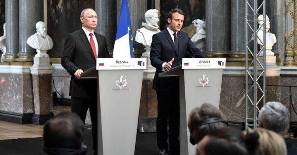Макрон пыжился казаться равным Путину: но для Донбасса встреча полезна