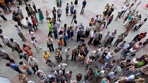 Население Украины может сократиться на треть