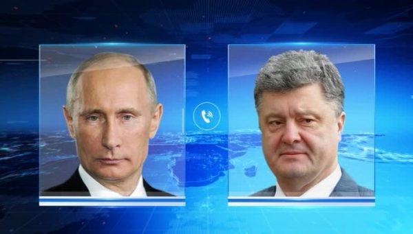 Порошенко рассказал о последнем разговоре с Путиным