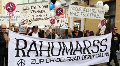 Прибалтика марширует против русофобии и оголтелой пропаганды