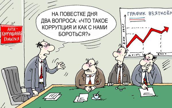 Как воруют в России и на Украине