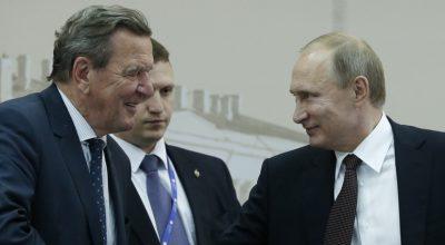 Times: Путин с помощью Шрёдера попытается загнать Меркель в ловушку
