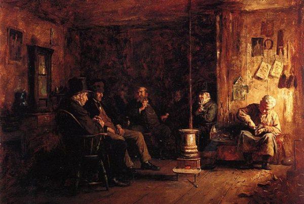 Истман Джонсон. Нантакетская школа философии. 1887