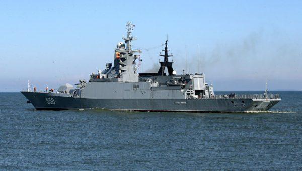Российские фрегаты оснастят отечественными двигателями