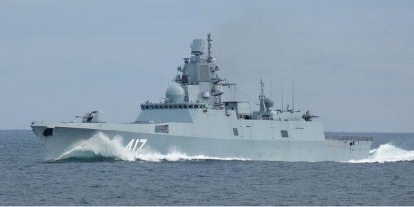 Иностранцы о фрегате «Адмирал Горшков»: «когда русские говорят - фрегат, знайте - это Разрушитель»