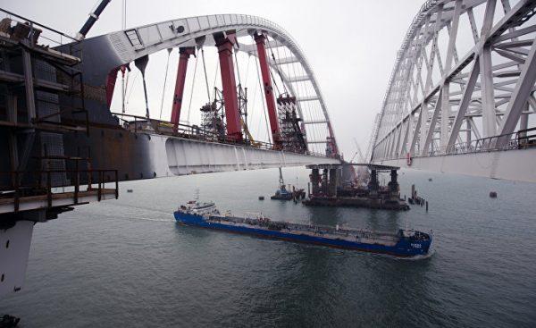 Крымский мост. Будем бить