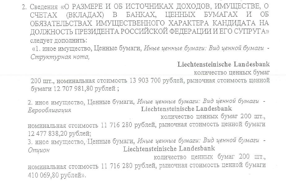 """Грудинин сообщил ЦИК о ранее """"забытых"""" счетах в австрийском банке"""