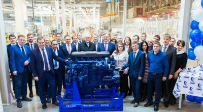 КАМАЗ запускает конвейер по производству двигателей Р6